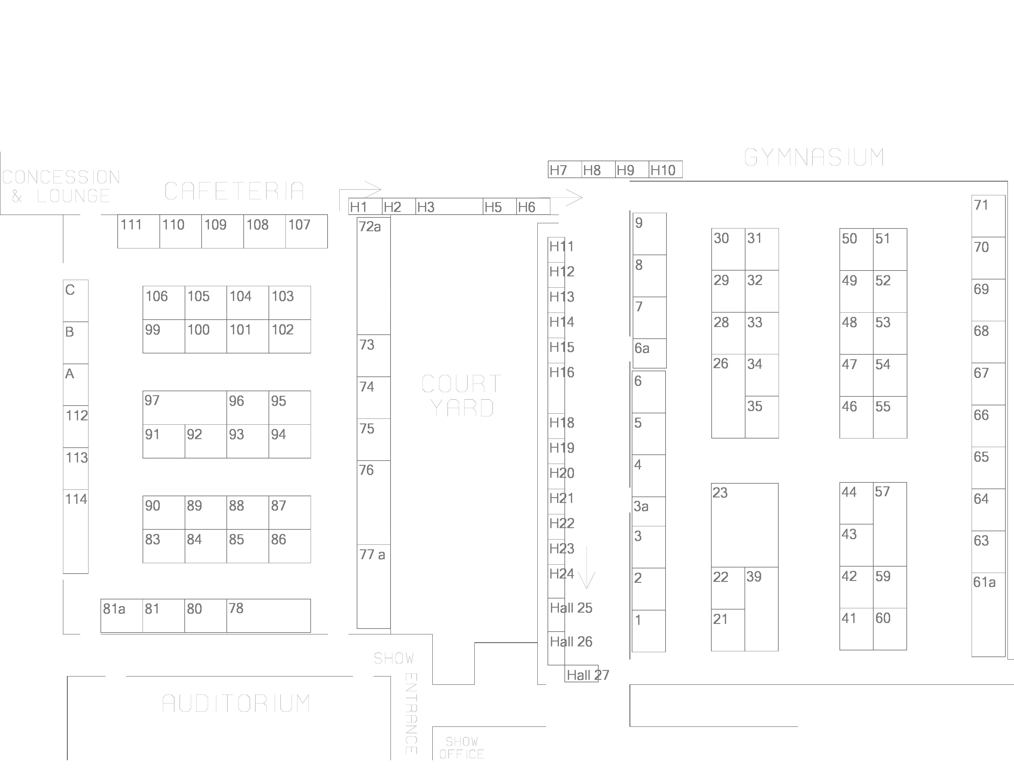 Bristol home business expo ct trade show jenks productions floor plan 1betcityfo Gallery