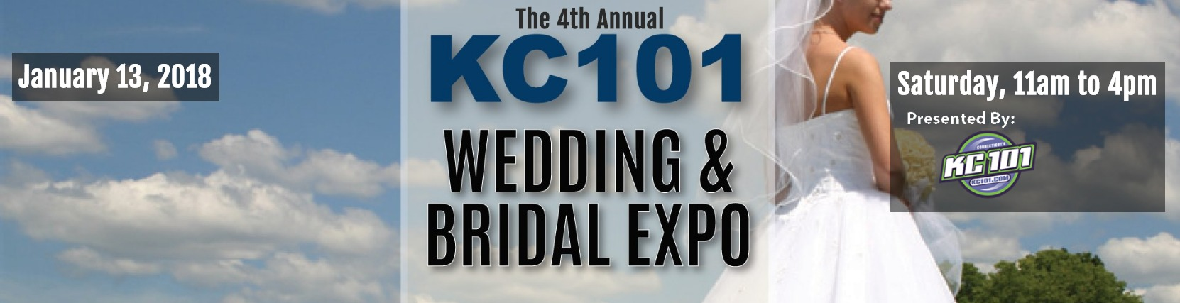 Jenks Productions & KC101 Wedding & Bridal Expo in New Haven, CT. January 13, 2018.