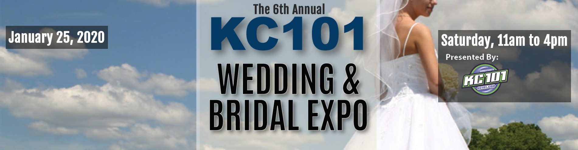 2020 KC101 Bridal & Wedding Expo at the Oakdale Theater in Wallingford, CT on Saturday 1/25/20